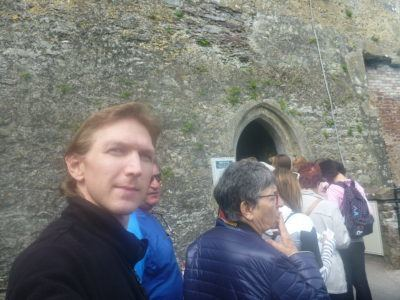 Backpacking in Ireland: Kissing the Blarney Stone in County Cork