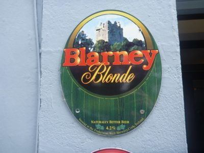Local Beer at Blarney Castle and Gardens