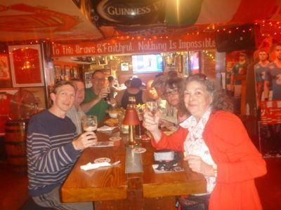 Drinks in Thomond Bar, Cork City