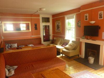 Spacious common room