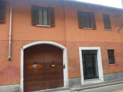 The entrance to Antica Corte Milanese