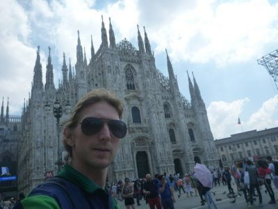 Backpacking in Milan - Duomo