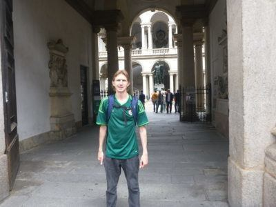 Backpacking in Milan - Pinacoteca di Brera
