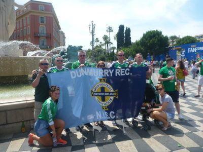 My Dad Joe Blair with the Dunmurry Rec NISC
