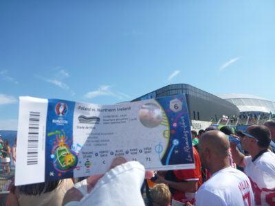 Match ticket v. Poland
