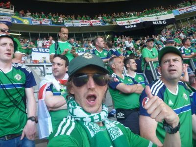 Green and White Army!