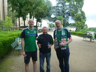 Matthew, Andrew and my Dad in Paris