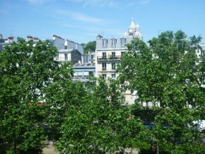 View of Sacre Coeur out my window