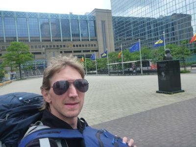 Arrival back into BELGIUM!