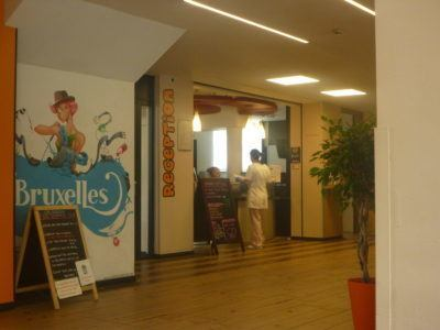 Backpacking in Belgium: Staying at Jacques Brel Hostel, Brussels