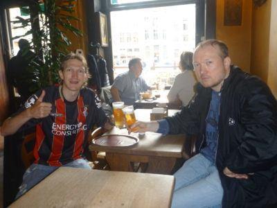 Beers with Pol in Brussels, Belgium