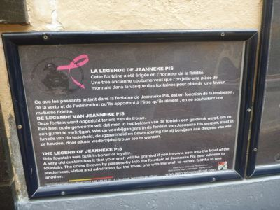 Information at Jeanneke Pis
