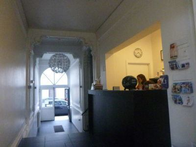 Entrance at Hostel 47