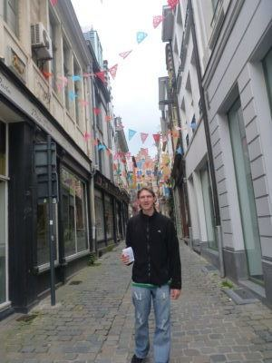 Backpacking in Ghent