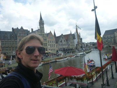 Backpacking in Ghent by day