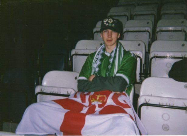 Northern Ireland 1-2 Yugoslavia (August, 2000. WIndsor Park, Belfast).