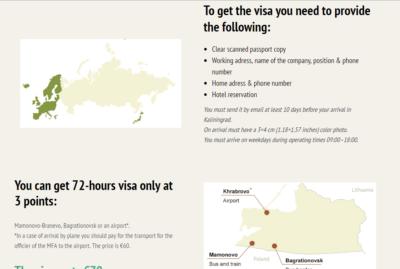 Kaliningrad Visa Site