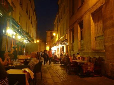 The Latin Quarter by night - alternative atmosphere