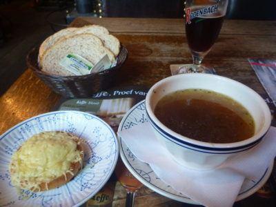 Dining out in Cafe Vlissinghe, oldest pub in Bruges