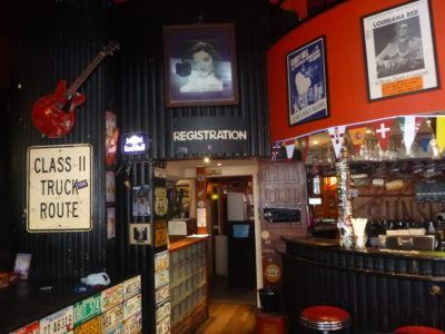 Cool US themed bar