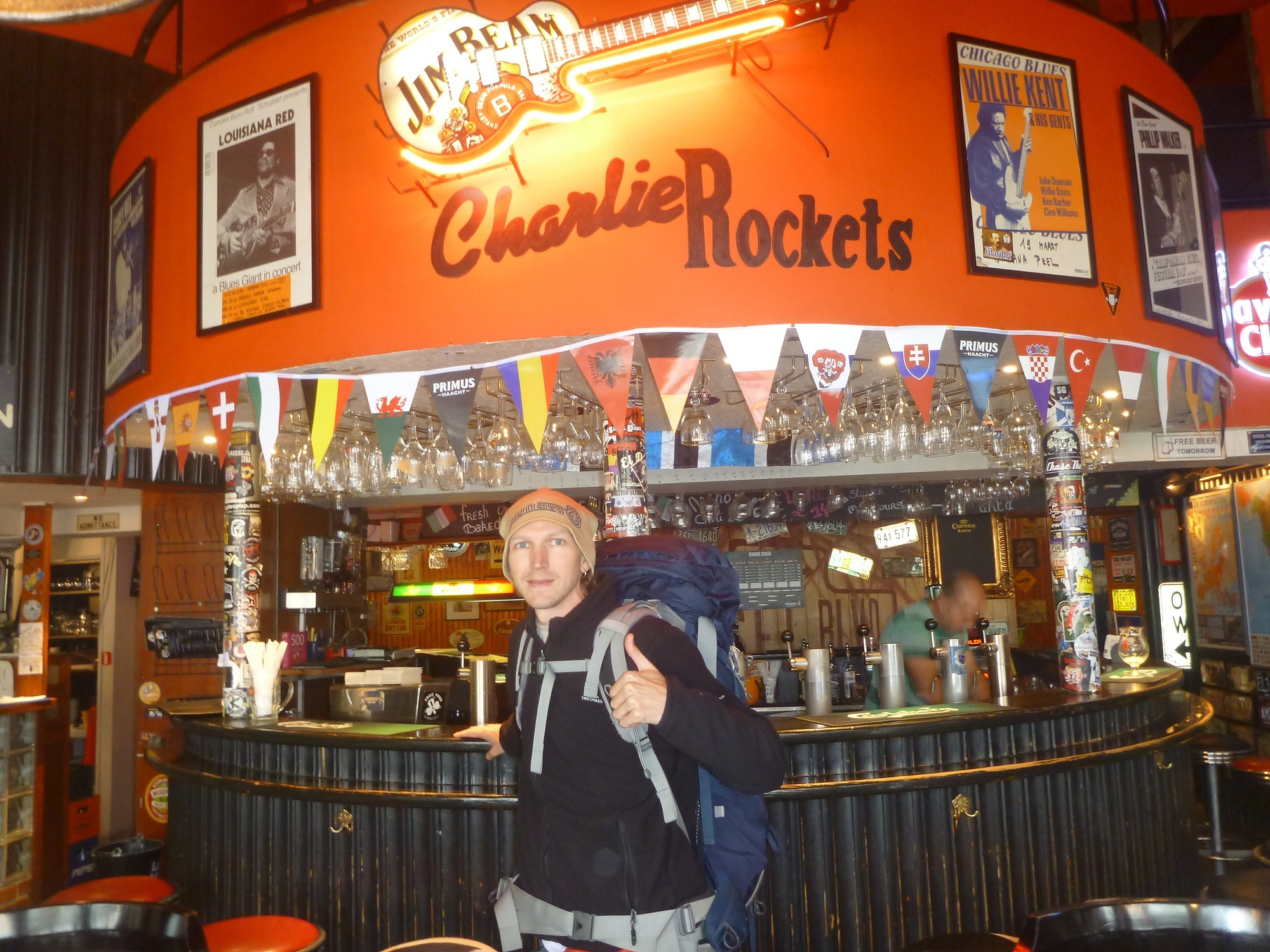 Backpacking in Belgium: Staying at Charlie Rockets Hostel in Bruges