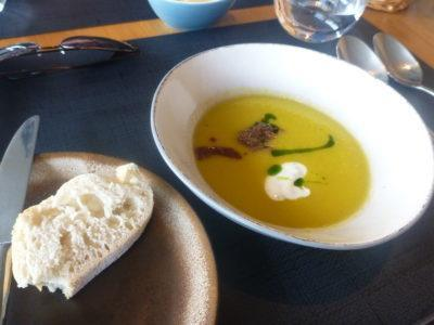 Pickled cucumber soup