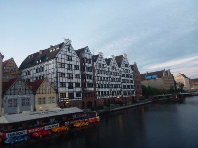 Backpacking in Poland: Cycling in Gdańsk with Mika on the Road and Hostel Cycle On