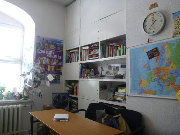 Learn Polish in Gdańsk - the classroom.