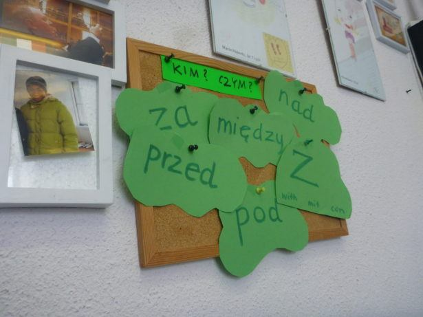 Learn Polish in Gdańsk - the classroom.