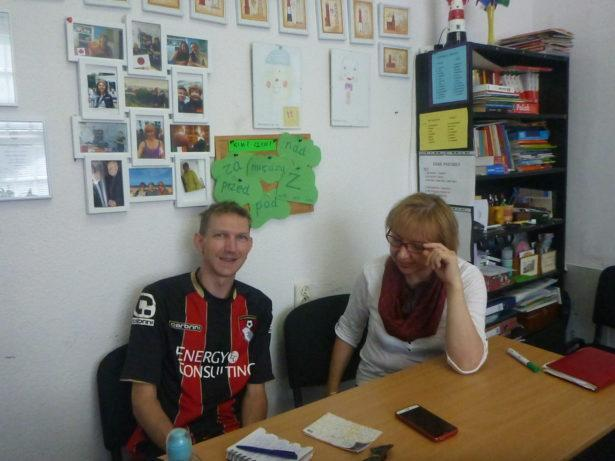 Learning Polish in Gdańsk - with Alina my teacher.