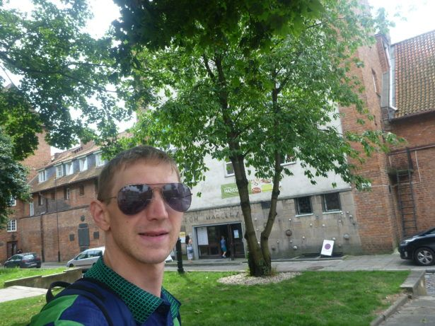 First Day at School in Gdańsk, Poland