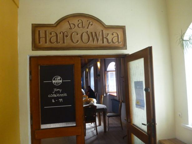The bar in the building of my Polish School in Gdańsk.