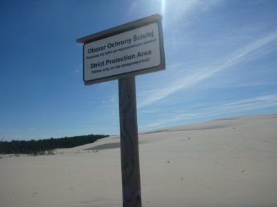 The Sand Dunes at Słowiński National Park
