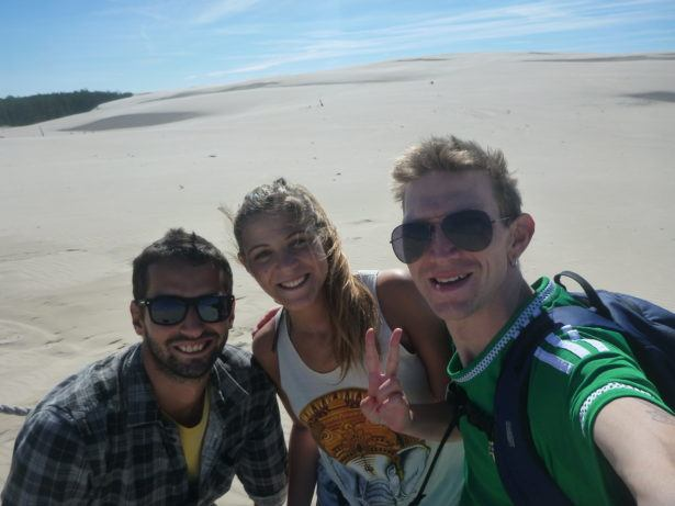 Touring the Sand Dunes at Slowinski National Park