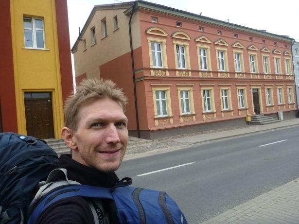 Arrival in Starogard Gdański