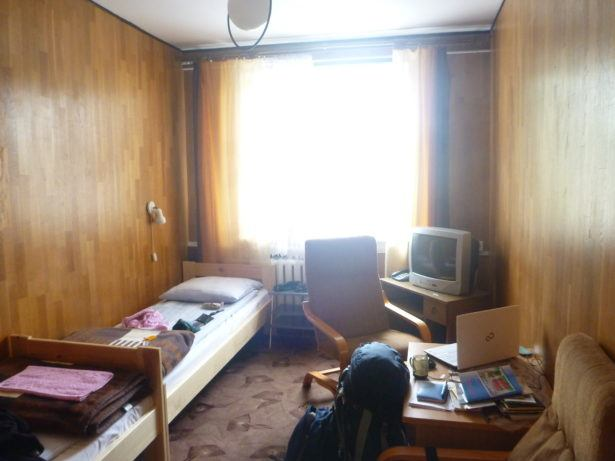 My room for writing in peace