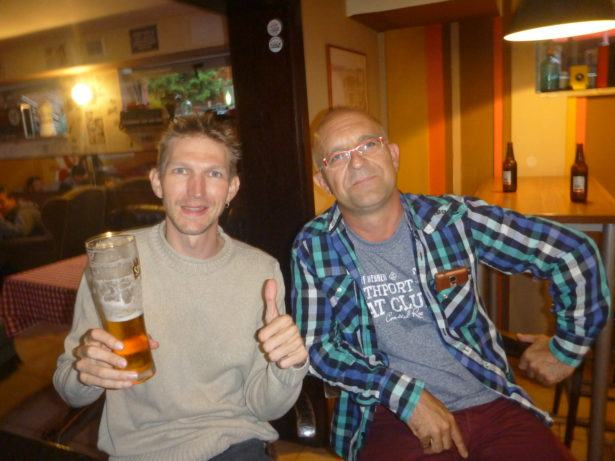 In the trendy Projekt PRL with Jacek