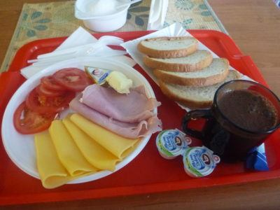 Breakfast at Noclegi Rekord, Starogard Gdański