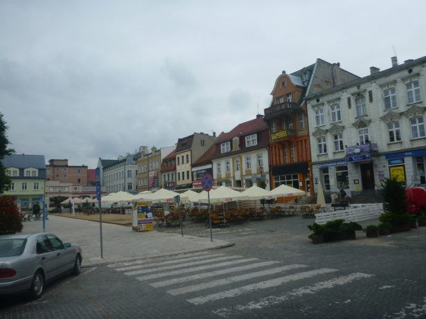 The Rynek (Main Square) by day.