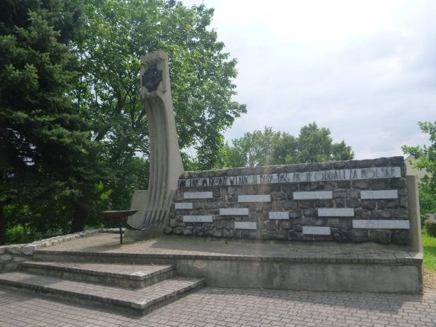 War Memorial in Starogard Gdański.