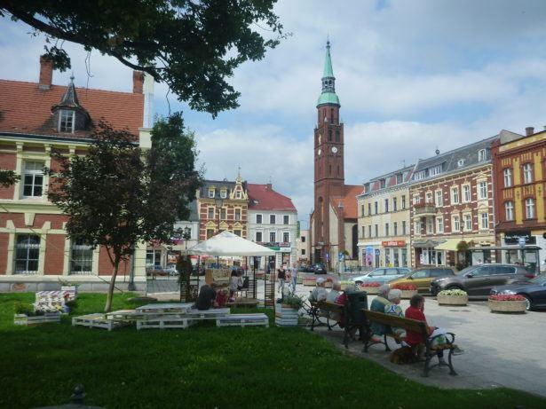 Capturing the scene at the Rynek in Starogard Gdański