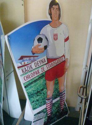 Kazimierz Deyna Information at my hotel by Kazimierz Deyna Stadium.