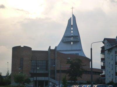 The Holy Mary church near the Link Hotel