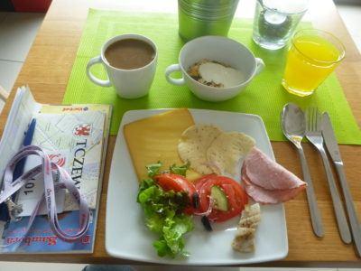 My fantastic breakfast here in Link Hotel, Tczew