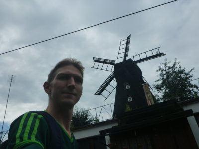 Touring the windmill - Wiatrak niderlankski
