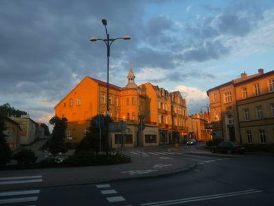 Downtown Pelplin, Poland