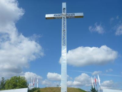 At the Hill of John Paul II