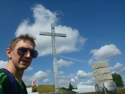 At the Hill of John Paul II