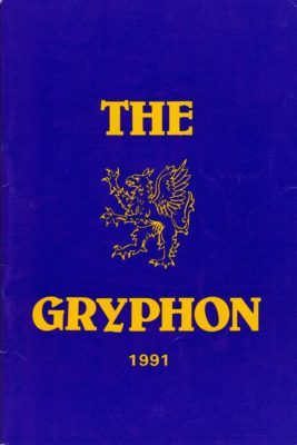 The 1991 BGS Magazine - the Gryphon