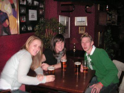 Night out in Keflavik with Beth and Una